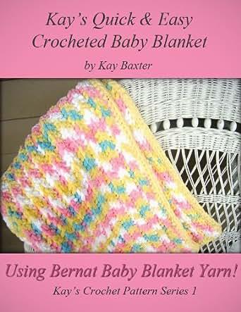 Quick Easy Crochet Baby Blanket Pattern Kays Crochet Patterns