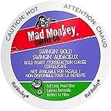 Mad Monkey Single Serve Coffee Capsules, Swingin Bold, 48 Count