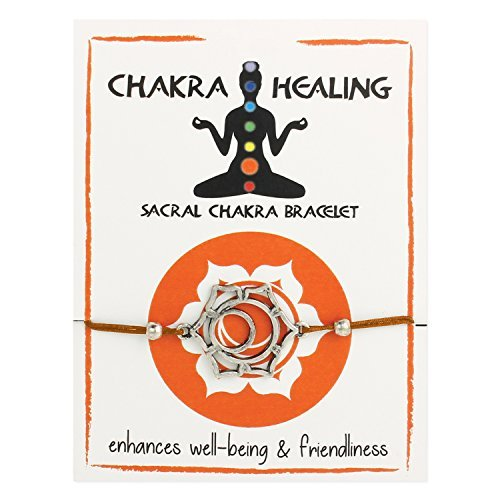 Zad Jewelry Sacral Chakra Healing Pull Bracelet Set Charm Pull Sacral. (Orange)