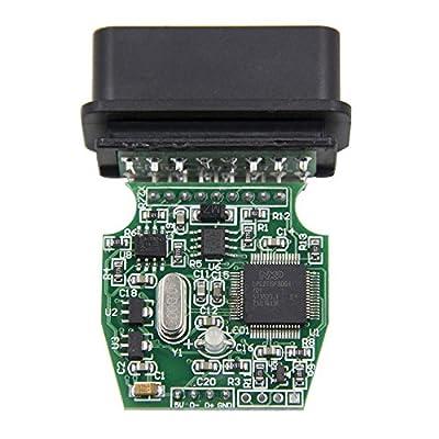 fran/çais non garanti Mini VCI pour les outils de diagnostic d/'OBD2 de Toyota TIS Techstream C/âble et logiciel Royaltec