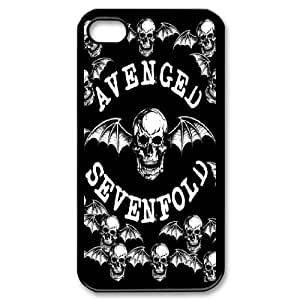 iPhone 4,4S Phone Case Printed With Avenged Sevenfold Images