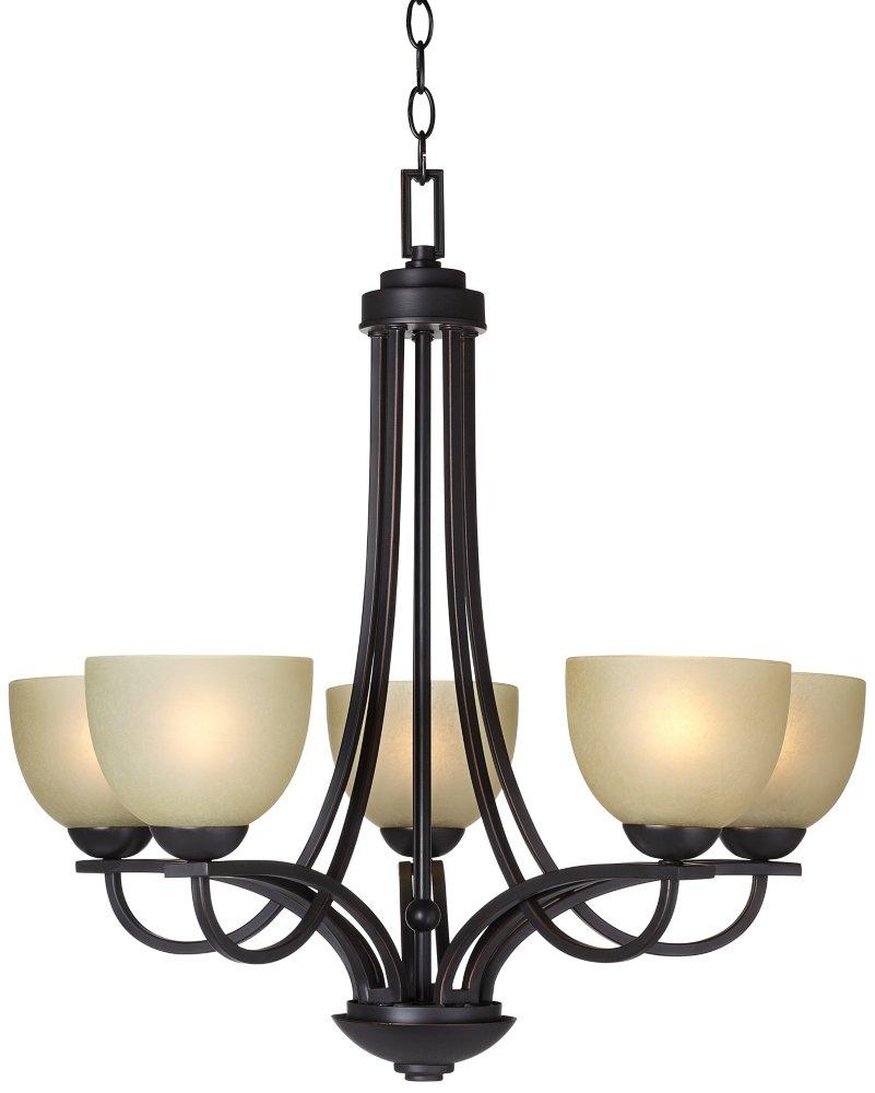 Bennington 26 wide 5 light italian bronze chandelier amazon aloadofball Image collections