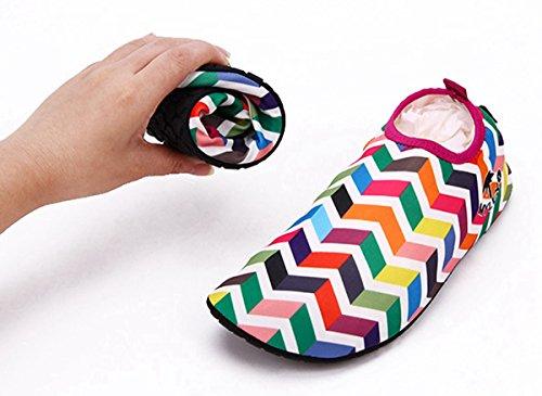 Herren und Welle Badeschuhe Unisex Mehrfarbig für Surfschuhe Mehrfarbig Aquaschuhe Panegy Damen Strandschuhe q8wSRHH0