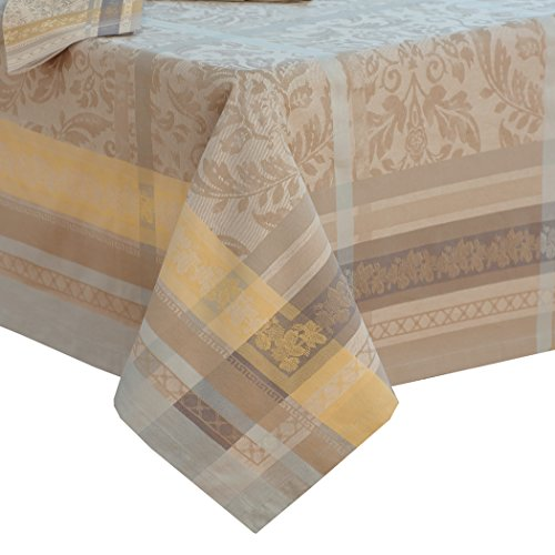 Villeroy and Boch Promenade Jacquard Fabric Tablecloth, 63