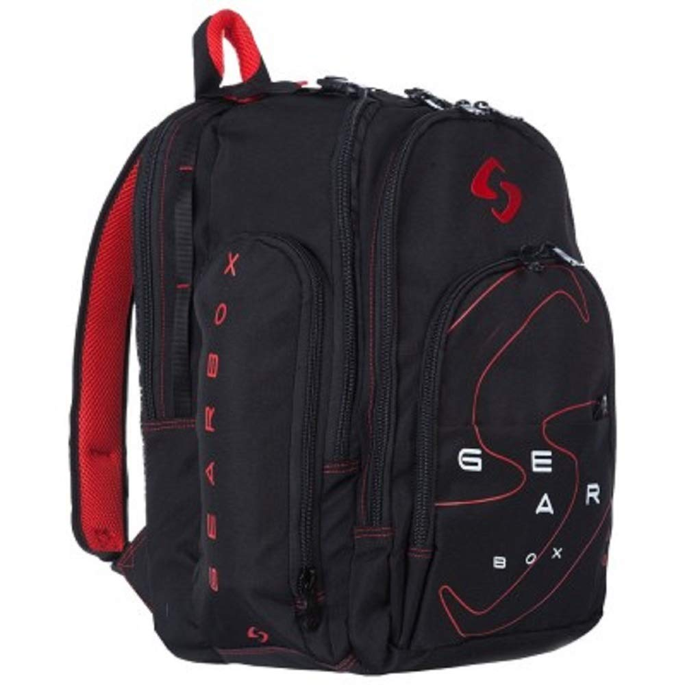 Gearbox Backpack (Black/Red)