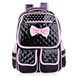 Comfysail Backpack Lightweight PU Leather Elementary School Student Backpack –Best Gift for 1-5 Grade Boys Girls