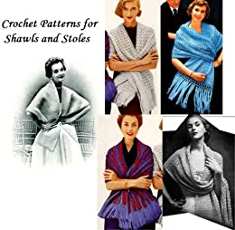 Crochet Patterns Shawls Stoles ebook product image