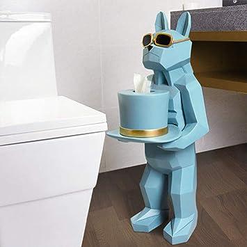 Soporte para Papel higiénico, Caja Creativa para Toallas de baño Toalleros para Toallas para Inodoro