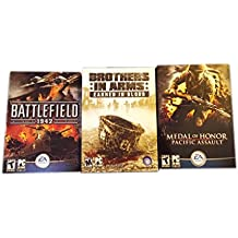 Milritary Game Bundle ( Battlefield 1942 - Brothers in Arms Earned in Blood - Medal of Honor Pacific Assault)