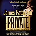 Private Audiobook by James Patterson Narrated by Peter Hermann
