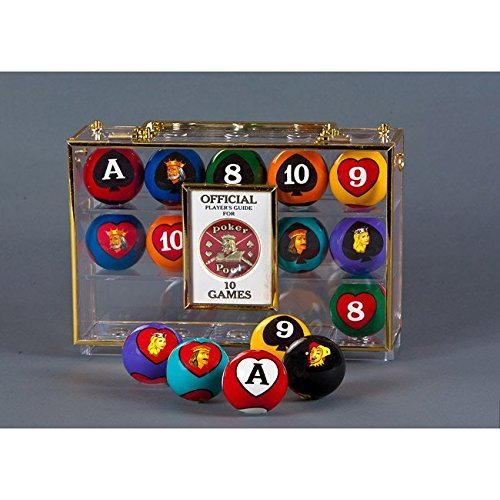 Crown Games Poker Pool Balls by Warrior Custom Golf