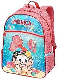 Mochila Escolar, Turma da Monica, Pacific, 973R04, Multicor
