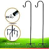 Shepherd-Hooks for Bird-Feeder Lantern Plant-Hook