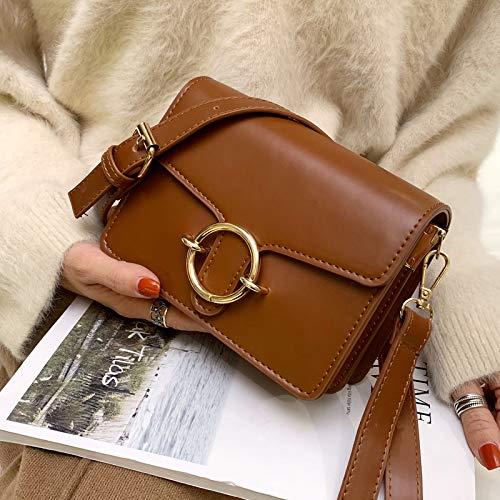 Mode Bag Rétro Sauvage Sac Noir Femme Messenger Xmy Simple nE0q4YIIw
