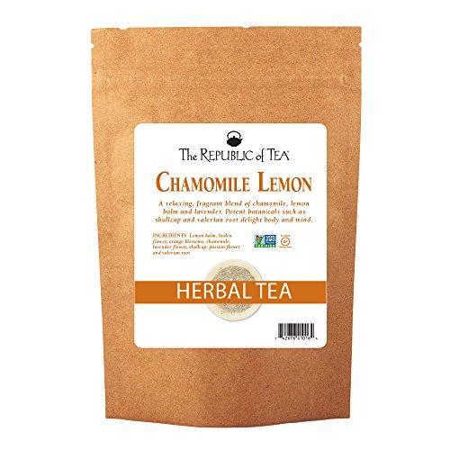 Chamomile Lemon Herbal Tea Bulk, 250 Tea Bags, Caffeine-Free Tea With Valerian Root ()