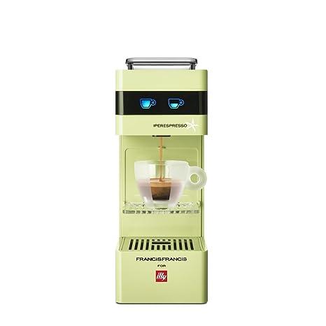 illycaffè Y3 Iperpresso - Máquina de café en cápsulas, color verde