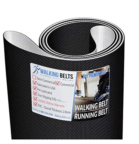 WALKINGBELTS Walking Belts LLC - Iron Man Legacy Treadmill Walking Belt 2ply Premium + Free 1oz Lube