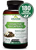 Cheap Essiac Tea Capsules, 500 mg | 180 Veggie Capsules | 4X Concentrated Extract is The Strongest Essiac Supplement Available | Vegetarian/Vegan | Supports a Healthy Immune System