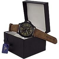 Relógio Orizom Original Masculino Prova D'água Couro + Caixa