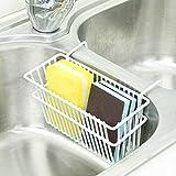 MOVEmen Home Kitchen Storage Tools, Kitchen Sink Rack Sponge Soap Drain Holder Bathroom Hanging Caddy Basket Shelf Filter Tool Kombination Kitchen Sink Drain Net Storage Box