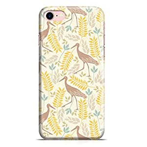 Loud Universe iPhone 7 Case Springs Flamingo Pattern New Metal Inforced Wrap Around iPhone 7 Cover