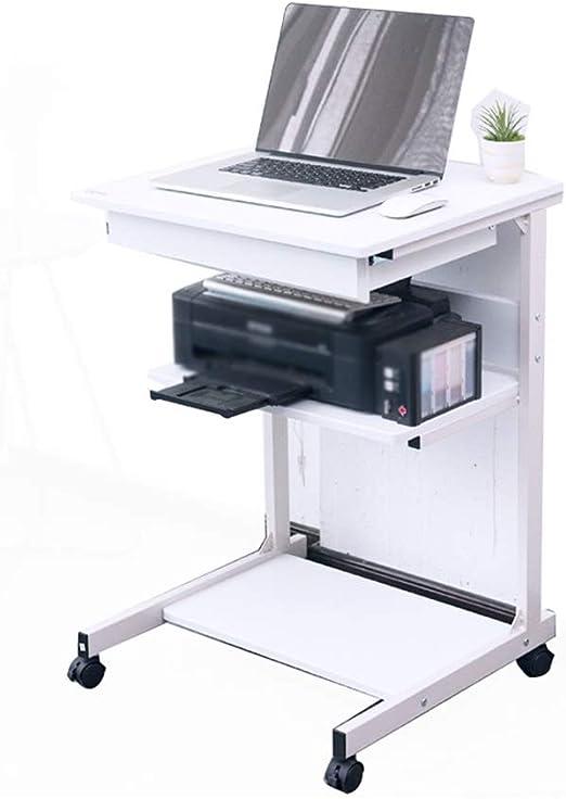 HAKN Mesa, Mesa De Escritorio para Computadora Móvil, Mesita De ...
