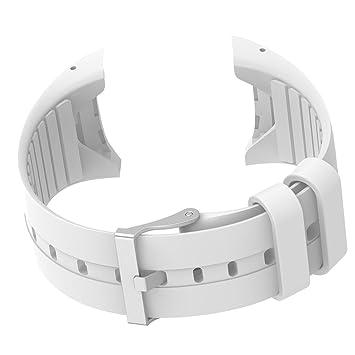 IPOTCH Banda de Muñequera Reemplazo Compatible con Polar M400 M430 Reloj Inteligente - Blanco