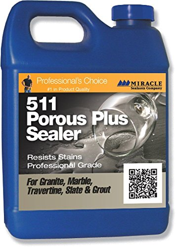 Miracle Sealants PLUS QT SG 511 Porous Plus Penetrating Sealer, Quart, 2 ()