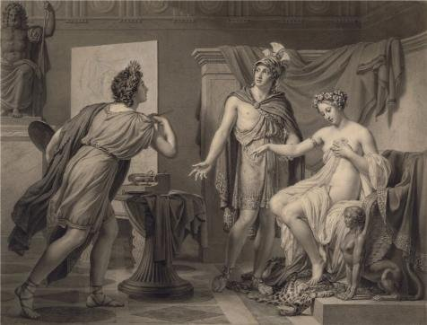 Space Marine Costume Price (Oil Painting 'Alexander Ceding Campaspe To Apelles,1819 By Jerme-Martin Langlois' Printing On High Quality Polyster Canvas , 20x26 Inch / 51x67 Cm ,the Best Dining Room Decor And Home Decor And Gifts Is This Best Price Art Decorative Prints On Canvas)
