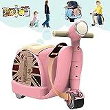Novel TT Luggage Stroller Toy,Baby Helper (Pink)