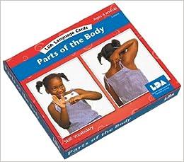 Buy Parts of the Body Language Cards (Lda Language Cards