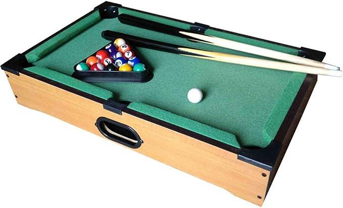 Juego de mesa billar simulación billar infantil entrenamiento en la piscina entretenimiento familiar juegos de mesa interactivos juguetes para padres e hijos mini mesa de billar juego de pelota: Amazon.es: Deportes y