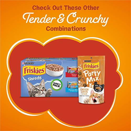 Purina Friskies Tender & Crunchy Combo Adult Dry Cat Food 11
