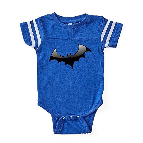 CafePress Black Bat Cute Infant Baby Football Bodysuit -