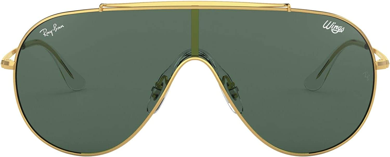 Ray-Ban 0rb3597 905071 33 Gafas de Sol, Gold, 45 Unisex