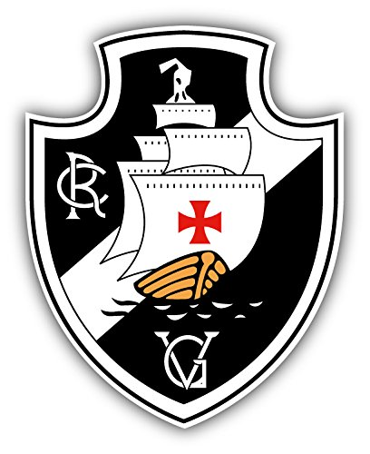 fan products of Vasco da Gama FC Brazil Soccer Football Art Decor Vinyl Sticker 4'' X 5''