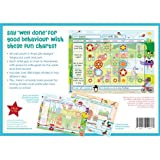 Children's Reward Chart Pad. Responsibility Chart. Chore Chart. Behavior Chart. 30 charts and over 300 stickers. Motivational chart for one or more children.