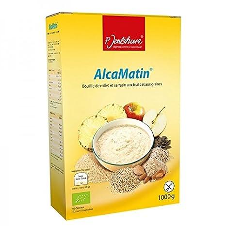 alcamatin petit déjeuner bio format économique 1 kg amazon fr