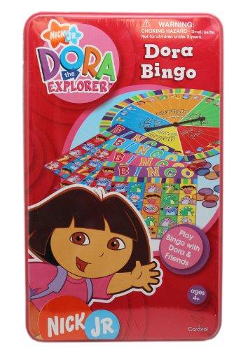 Dora the Explorer Bingo Set with Tin (Dora The Explorer Bingo)