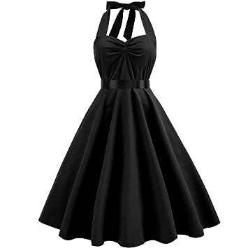 Mujer vestido para damas boda traje vintage sin manga elegante prime mujer,Sonnena Vestido sin