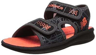126a9ff3b064e Amazon.com | New Balance Unisex Sport Sandal, Black/Orange, P13 M US ...