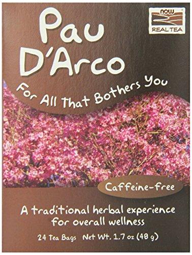 NOW Foods Paudarco Tea 24 Bags