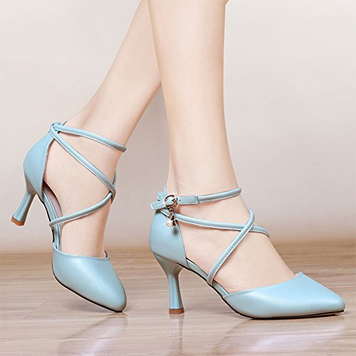 A Verano Baotou EU36 B con punta CN36 Color 7cm Tacones altos sueltos o de Zapatos Sandalias UK4 Tama zP6qwz