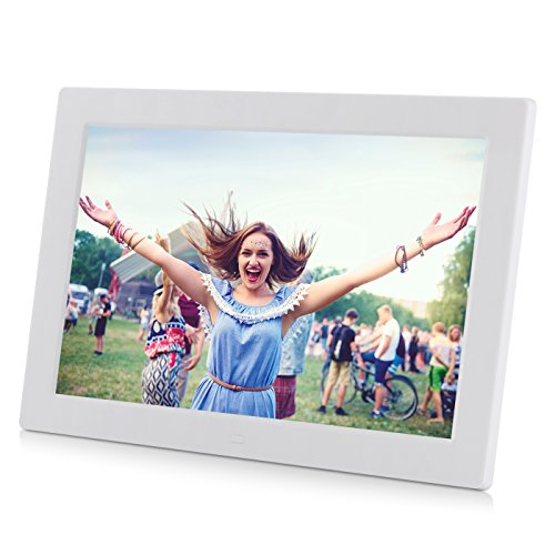 12 inch Digital Photo Frame, AKImart High Resolution 1280×800 Support USB/SD/MS/MMC Picture Frames