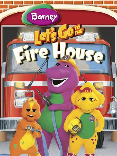 Barney: Let's Go To The (Firefighter Movies For Kids)