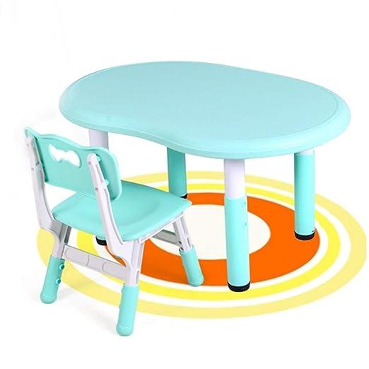 Mesas y sillas de jardín de Infantes Escritorio y una Silla ...