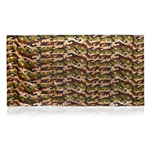 Wallup ODAC-WU5000-04 Instant Outdoor Privacy Screen, 6' High by 12' Wide, Camo