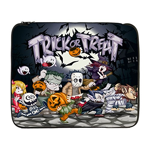 17 Inch Laptop Sleeve Halloween Trick or Treat Costumes]()