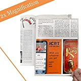 MagDepo 2X Large Rigid Acrylic Page Magnifying