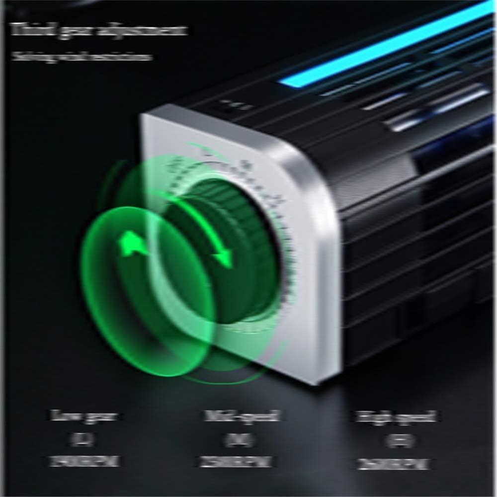 KOUPA Laptop Cooling Pad 3-Speed Adjustable USB Multi Function Laptop Cross-Flow Turbine Cooling Fan for Laptop Pad Tablet Phone